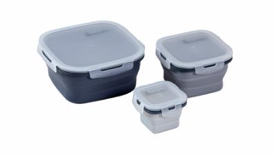 Folding food box set 3 pcs. Kitchen
